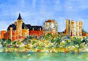 Saskatoon Panorama Print by Pat Katz