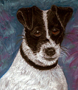 Puppy Pastels - Sassy 2 Pastel by Antonia Citrino