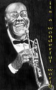 Anneke Hut Art - Satchmo by Anneke Hut