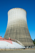 Meltdown Photos - Satsop Ghost Tower by Roger Reeves