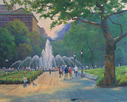 Marianne  Kuhn - Saturday in the Park