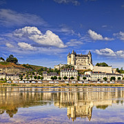 Loire Valley Prints - Saumur Loire Valley France Print by Colin and Linda McKie