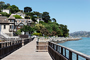 Sausalito Acrylic Prints - Sausalito charm Acrylic Print by Jo Ann Snover