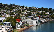Sausalito Metal Prints - Sausalito Metal Print by Greg Thiemeyer