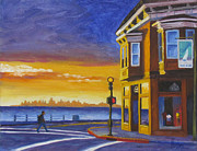 Sausalito Paintings - Sausalito by Kevin Hughes