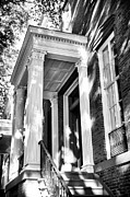 Home Building Images Posters - Savannah Columns Poster by John Rizzuto
