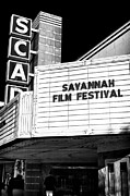 Savannah Artist Framed Prints - Savannah Film Festival Framed Print by John Rizzuto