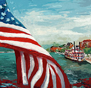 Savannah River Queen Print by Ginette Callaway