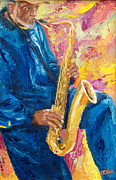 Player Originals - Savannah Sax Player II by Pamela Ramey Tatum