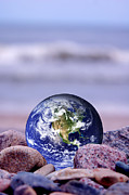 World Peace Art - Save the Earth by Michal Bednarek