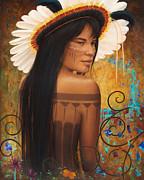 Save Xingu Print by Sharon Irla