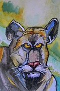 Saving Paintings - Saving the Florida Panther by Warren Thompson