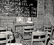 Schoolhouse Photos - Saving The Past by Robert Frederick