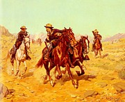Army Paintings - Saving Their Lieutenant by Pg Reproductions