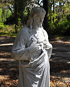 Savior Statue Print by Al Powell Photography USA