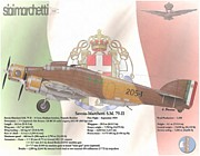 Data Mixed Media - Savoia-Marchetti S.M. 79-II by A Hermann