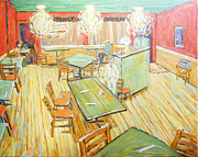 Nederland Originals - Savory Cafe on Van Gogh by Al Hart