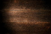 Saw Marks On Wood Print by Olivier Le Queinec