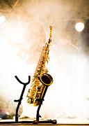Saxophone  Print by Bob Orsillo