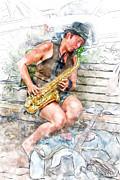 John Haldane - Saxy Jazz