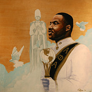 Fraternity Painting Prints - Say I Was A Drum Major Print by Jerome White
