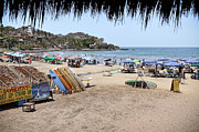 Sayulita Framed Prints - Sayulita Mexico Framed Print by Amy Fearn