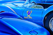Race Car Photo Prints - Scarab Roadsters - 1958 Print by Jill Reger