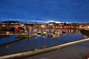 Dave Woodbridge Metal Prints - Scarborough Bay Metal Print by Dave Woodbridge
