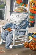 Scarecrow Originals - Scarecrow break time by Bob  George