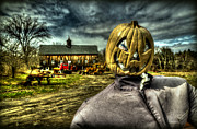 Old Shack Photos - Scarecrow by Craig Incardone