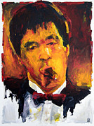 Brian De Palma Framed Prints - Scarface Framed Print by Michael Leporati