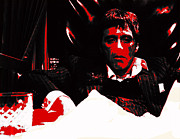 Brian De Palma Prints - Scarface On Top of the World Print by Brian Reaves