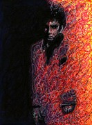 Tony Montana Framed Prints - Scarface Framed Print by Rachel Scott