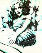 Scarlett Blues Print by Lorinda Fore