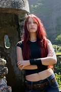 Frederico Borges Photos - Scatha - Angelica Burns - vocals by Frederico Borges