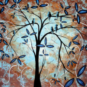 Dots Paintings - Scenes from a Dream by MADART by Megan Duncanson