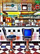 Skopelos Metal Prints - Scenic 90 Cafe in Pensacola Florida Metal Print by Sarah Beth Lite