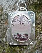 Scenic Jewelry - Scenic Jasper pendant by Arianna Bara