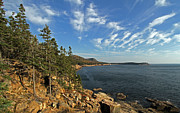 Seacoast Prints - Scenic Maine Acadia Coast Photography Print by Juergen Roth