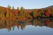 Fall Photographs Posters - Scenic New England Poster by Juergen Roth