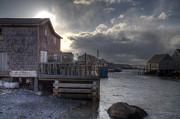 Scenic Peggy's Cove Print by Eric Lortie