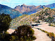 Tucson Originals - Scenic View by M Diane Bonaparte