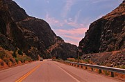 Tunnels Prints - Scenic Wind River Canyon Print by John Malone