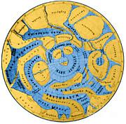 Science Source - Schiaparelli Mars Map 1877-78