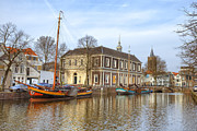 Harbour Framed Prints - Schiedam Framed Print by Joana Kruse