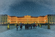 Christmas Market Photos - Schonbrunn Christmas Market by Joan Carroll