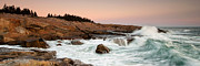 Down East Maine Art - Schoodic Point - Acadia National Park by Patrick Downey
