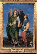 Archangel Photo Prints - School Dagnolo Andrea Detto Andrea Del Print by Everett