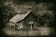 Old School House Framed Prints - Schools Out Framed Print by Tom Mc Nemar