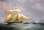 REPRODUCTION - Schooner Amy Stockdale off Dover